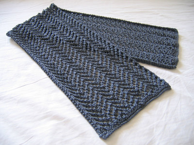 KNIT PATTERN LACE SCARF Free Knitting and Crochet Patterns